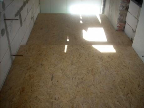 Podlaha z osb